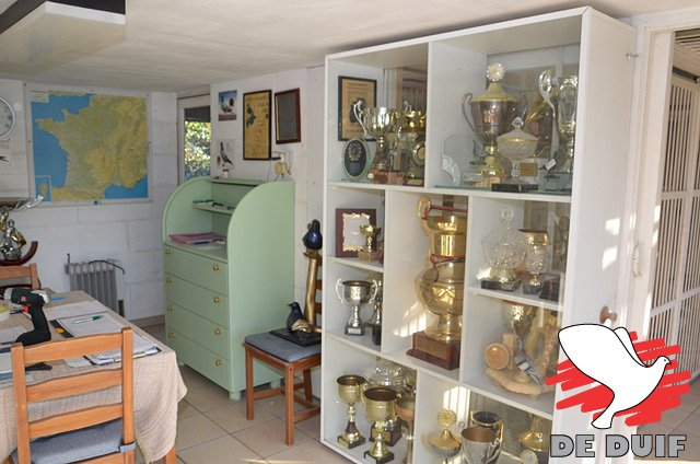 A trophy cabinet that gets larger year after year...