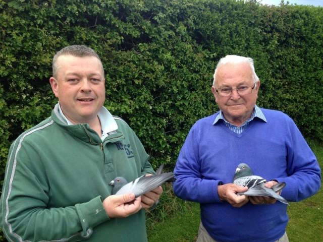 Wayne and father Rowan Doonan of the Doonan & McGuiness partnership