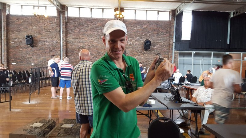 Jan Hooymans selected GFL 15-267 as his favorite at basketing two days before the race!!